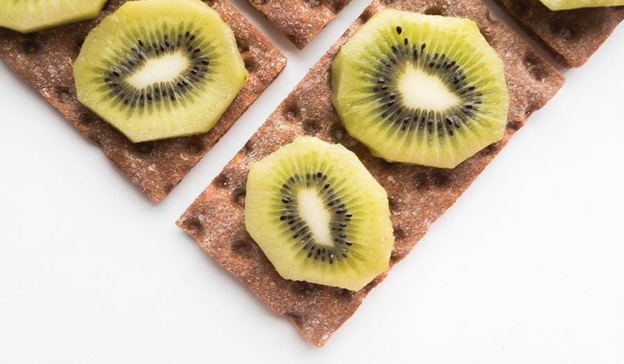 Foto van gezonde snack