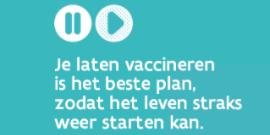 Laat je vaccineren!